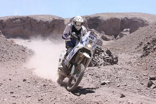 "Mani Gyenes a mai urcat un loc la ""general"", la Raliul Dakar 2012"