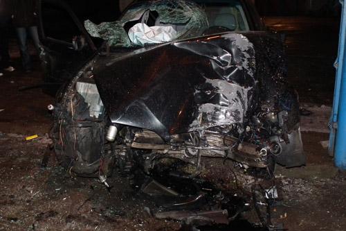 Accident spectaculos pe strada Lucian Blaga (foto)