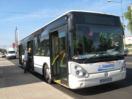 Modificări în traseele unor autobuze în municipiu