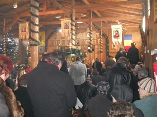 Biserici pline cu ocazia Bobotezei
