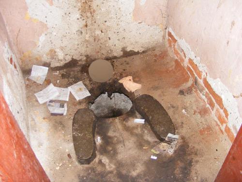 Condiții primitive în closetele din gările CFR