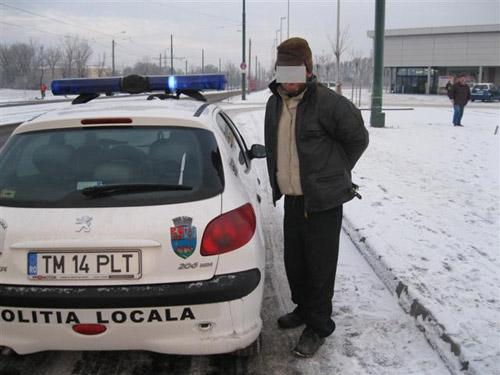 Un cuțitar din Sătmar își face de cap la Timișoara