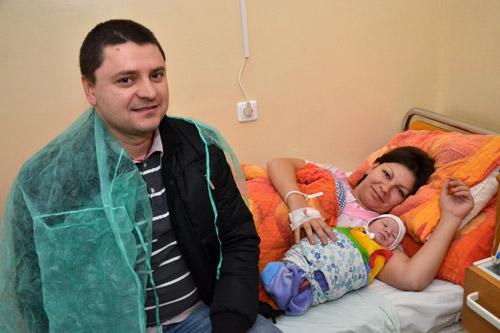 Hanna, primul nou născut în 2012