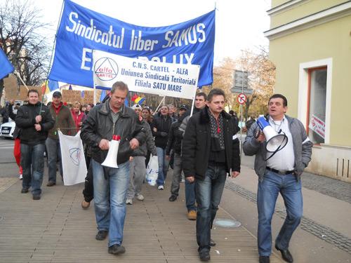 """""""Cartel Alfa"""" organizează proteste de stradă în toată țara"""