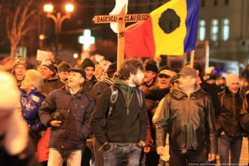 Miting de protest la Satu Mare (16 poliţişti pregătiţi să intervină)