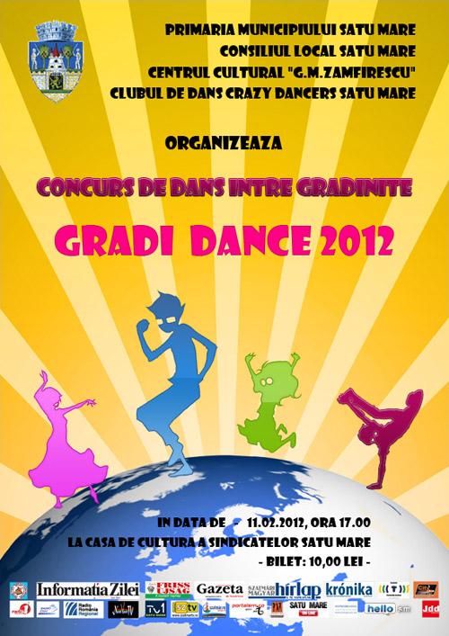 Grădi Dance – concurs de dans între grădiniţe
