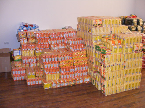 Peste 3.000 kg de alimente pentru sinistraţi adunate la Satu Mare