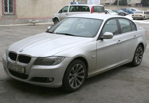 BMW de 30.000 euro furat din Italia