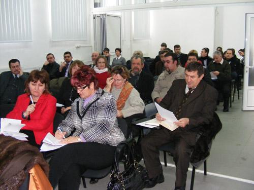 Ședință pentru promovarea învățământului profesional la IȘJ Satu Mare