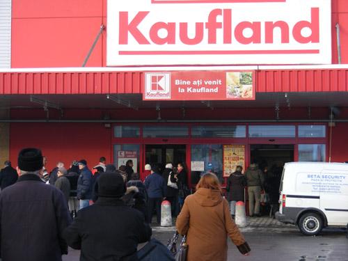 Alarmă la Kaufland