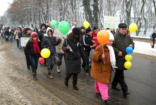 Marş de solidaritate cu suferinzii de boli rare