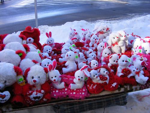 Comercianții se pregătesc de Valentine's Day