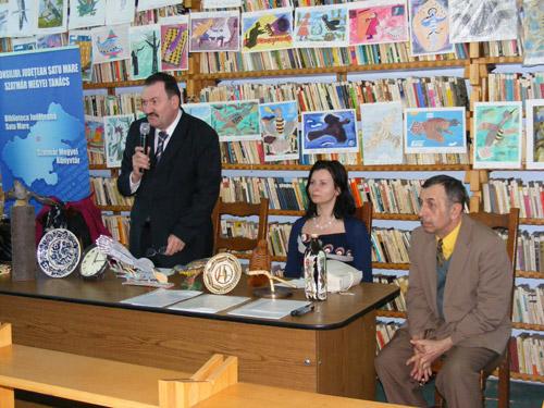 Cucul a adus primăvara la Biblioteca Județeană Satu Mare