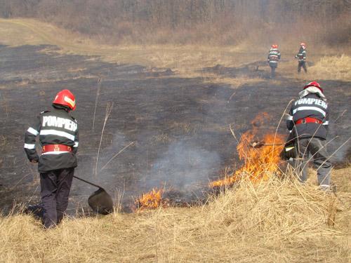 Măsuri de prevenire a incendiilor în perioada de primăvară