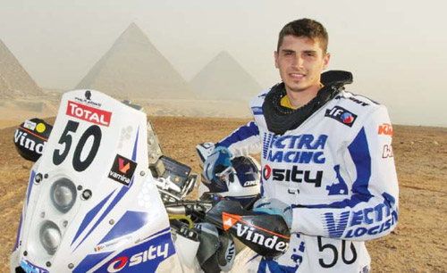 Mani Gyenes va participa la raliul Dakar 2015