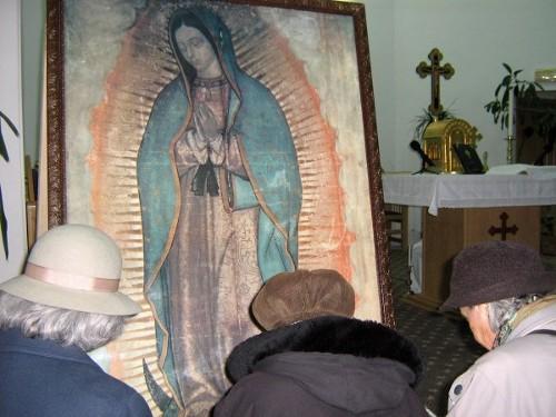 Icoana Sfintei Fecioare de la Guadalupe, expusă la Satu Mare