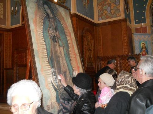 Icoana Sfintei Fecioare de la Guadalupe, la Satu Mare