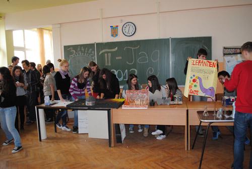 Târg de Științe la Liceul German