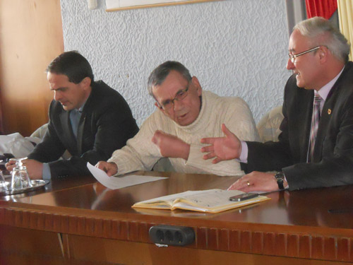 Mircea Marian şi vicele Adrian Albu s-au luat la harţă