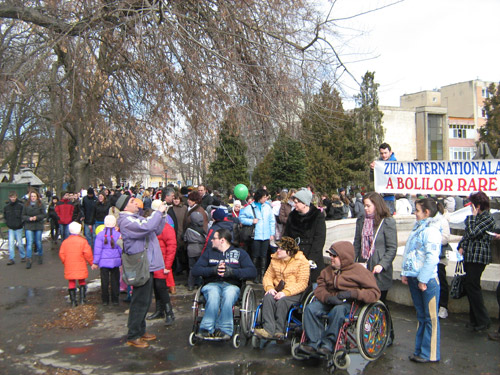 Careienii, solidari cu suferinzii de boli rare