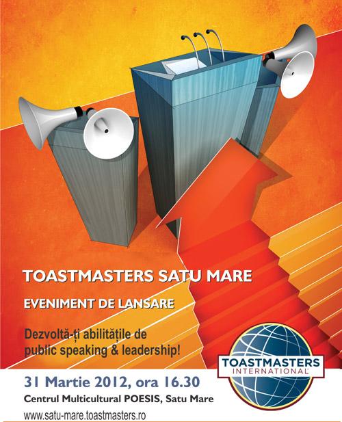 Lansare Toastmasters Satu Mare