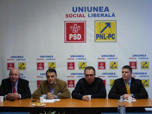 USL va avea liste comune de candidaţi în toate localităţile din judeţul Satu Mare