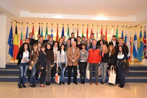 Un grup de TSD-iști sătmăreni au vizitat Parlamentul European