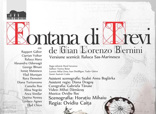 Fontana di Trevi – sâmbătă la Teatrul de Nord