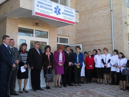 A fost inaugurat ambulatoriu de Specialitate din Tăşnad