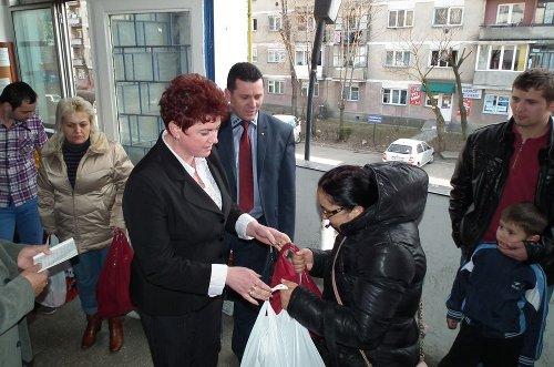 PSD Micro 14 a oferit cadouri de Paște