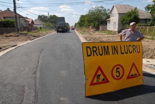 Strada Şoimoşeni va fi reabilitată