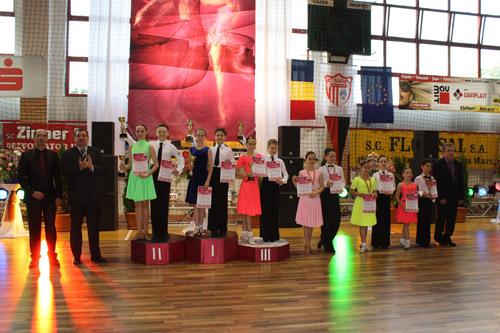"""Rezultate de excepție pentru dansatorii de la Royal Dance Club și Școala de Arte la """"Cupa Sătmarului"""""""