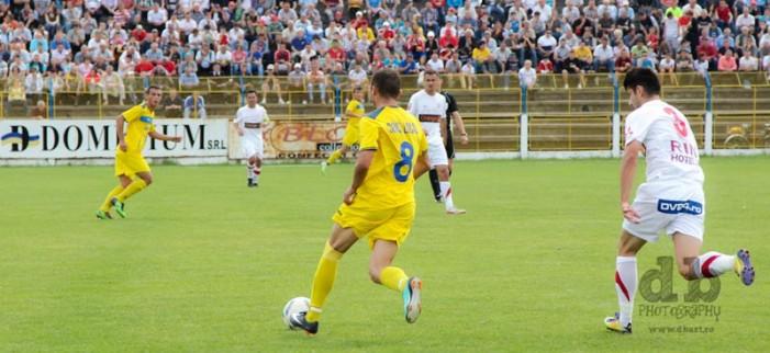 Olimpia Satu Mare – Dinamo Bucureşti: 0-1