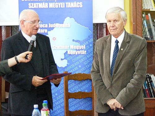 Academicianul Eugen Simion, oaspetele Bibliotecii Județene Satu Mare