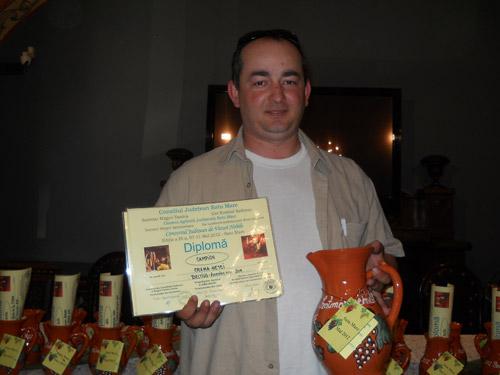 Vinul roşu de la crama Hetei din Beltiug, campionul de aur al concursului judeţean de vinuri