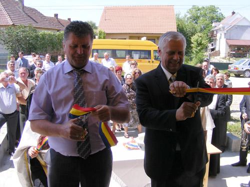 Satul Potău are un cămin cultural modern