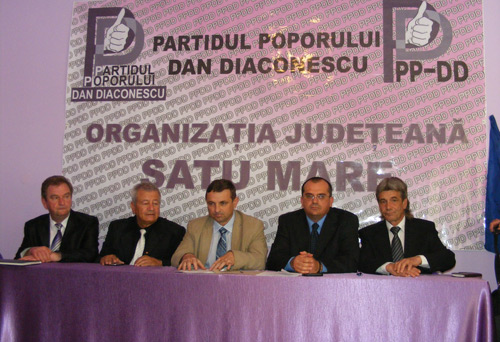 PP-DD și-a prezentat astăzi o parte din candidații pentru locale