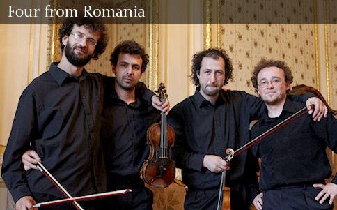 Tiberius Quartet în concert la Carei