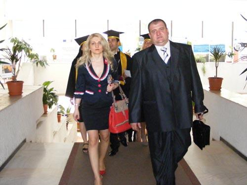 Festivitatea de închidere de an pentru studenţii Facultăţii de Administraţie Publică
