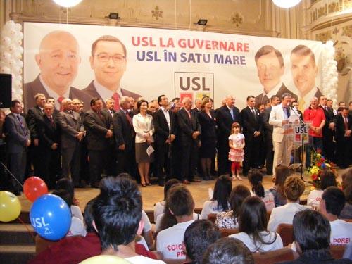 USL Satu Mare şi-a lansat astăzi candidaţii pentru locale