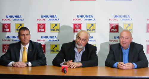 "Varujan Vosganian: ""USL Satu Mare merge bine"""