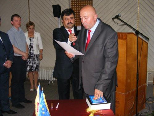 Noul Consiliu Local al municipiului Satu Mare, Radu Roca şi Marcela Papici – viceprimari