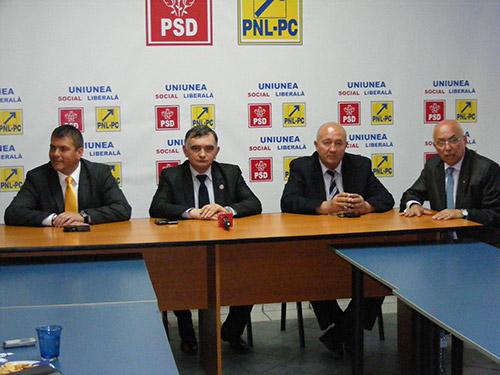 Secretarul de stat Stelian Fedorca îi sprijină pe Dorel Coica și Adrian Ștef la locale