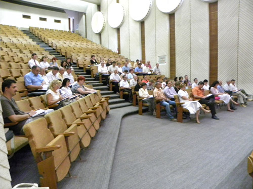 Instruirea secretarilor primăriilor din judeţul Satu Mare privind constituirea noilor consilii locale