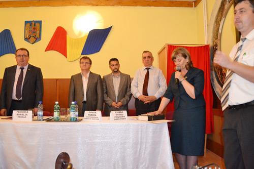 Aurelia Fedorca a depus sâmbătă jurământul