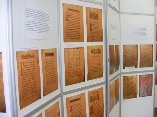 Fotografiile unor manuscrise slavone și românești, la Muzeul județean Satu Mare