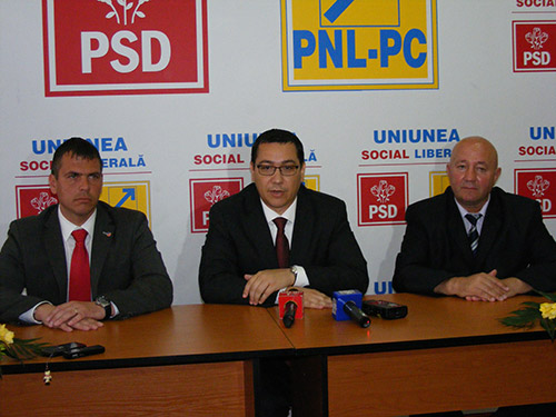 Victor Ponta este aşteptat săptămâna viitoare la Satu Mare