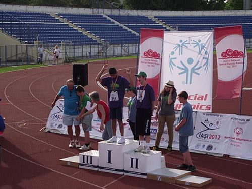 Sportivii de la Langdon Down Transilvania Satu Mare medaliaţí la Jocurile Naționale Special Olympics