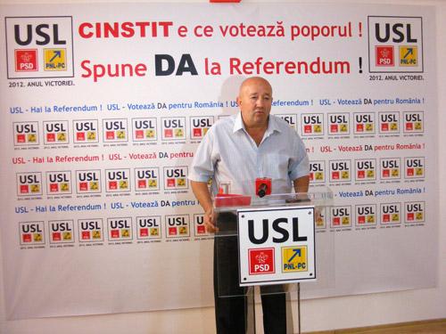 """""""Veniți pe 29 iulie la vot, ca să-l trimitem pe Băsescu pe mare"""""""