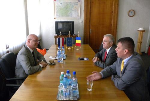 Consulul onorific al Olandei în vizită la Satu Mare